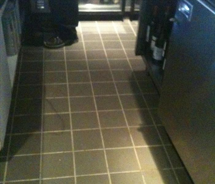 Commercial Water Damage – Americus Restaurant After