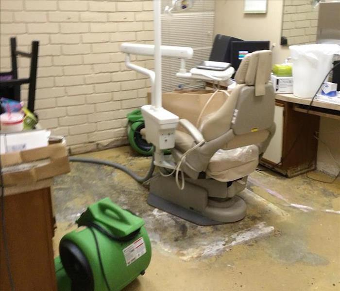 Storm Damage – Albany Dental Office Before